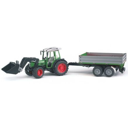 Bruder 01999: Fendt 209 S Tractor with Tipping Trailer
