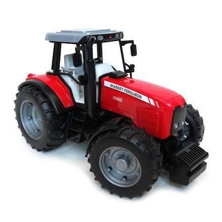 Bruder 02040 Massey Ferguson 7480 Tractor, Right Side