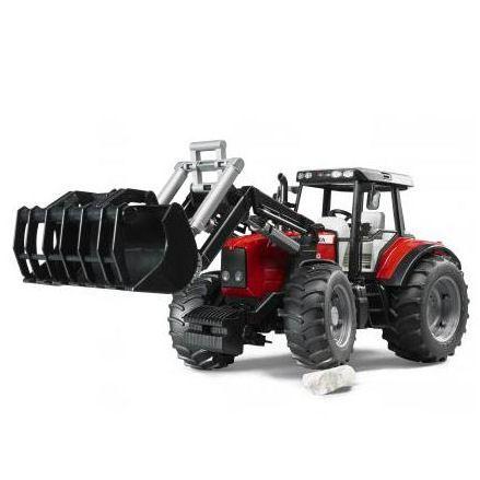 Bruder 02042 Massey Ferguson 7480 Tractor, Front Loader