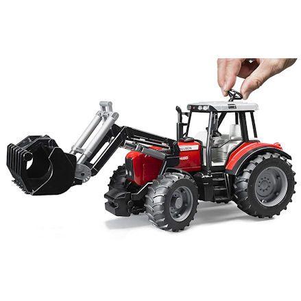 Bruder 02042 Massey Ferguson 7480 Tractor, Steering