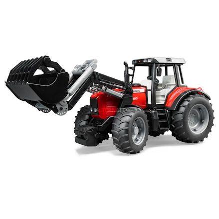 Bruder 02042 Massey Ferguson 7480 Tractor with Front Loader