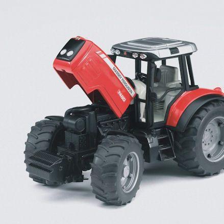 Bruder 02045 Massey Ferguson 7480 Tractor, bonnet