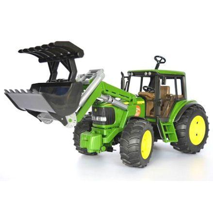 Bruder 02052 John Deere 6920 Tractor, Grabber Attachment