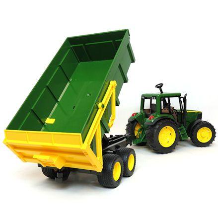 Bruder 02058 John Deere 6920 Tractor, Tipping Trailer