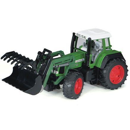 Bruder 02062 Fendt Favorit 926 Vario Tractor, grabber attachment