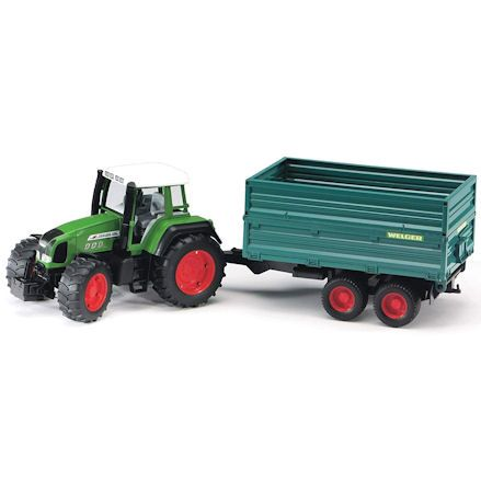 Bruder 02068 Fendt Favorit 926 Vario Tractor with Tipping Trailer