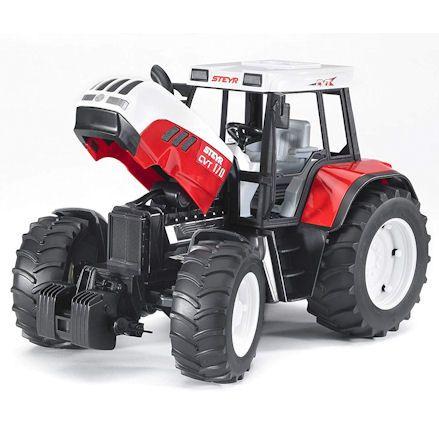 Bruder 02080 Steyr CVT 170 Tractor, bonnet