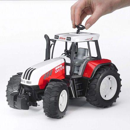 Bruder 02080 Steyr CVT 170 Tractor, control