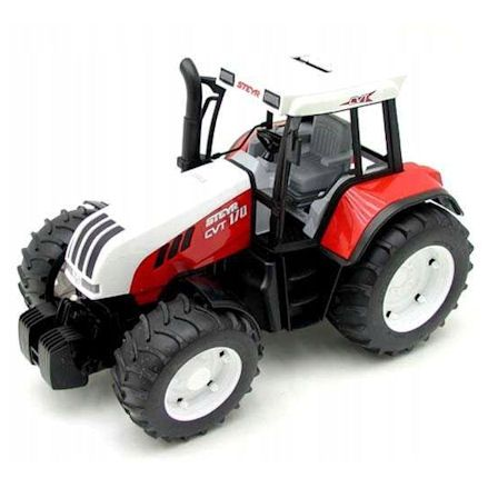 Bruder 02080 Steyr CVT 170 Tractor, left side