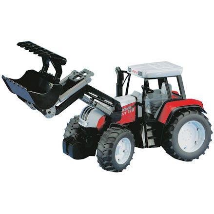 Bruder 02082 Steyr CVT 170 Tractor with Front Loader
