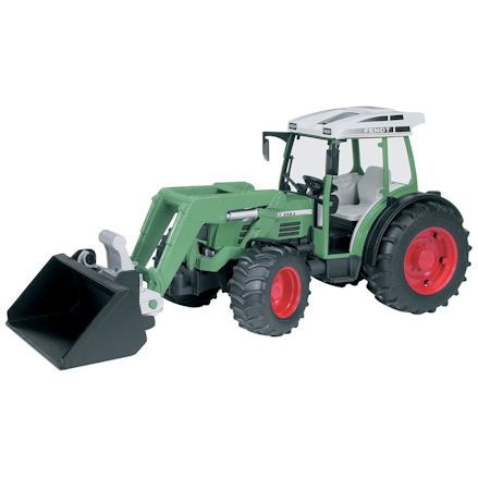 Bruder 02101 Fendt 209 S Tractor, turning wheels