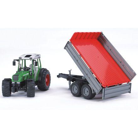 Bruder 02104: Fendt 209 S Tractor, setup