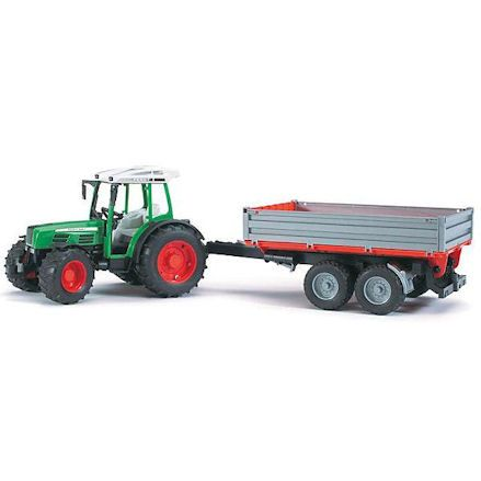 Bruder 02104: Fendt 209 S Tractor with Tipping Trailer