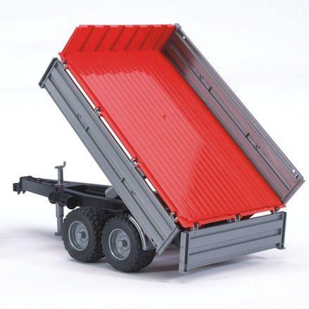 Bruder 02104: Fendt 209 S Tractor, tipping trailer