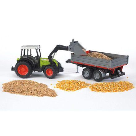 Bruder 02112 Claas Nectis 267F Tractor Set, heap
