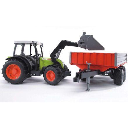 Bruder 02112 Claas Nectis 267F Tractor Set, front loader