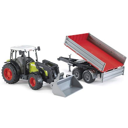 Bruder 02112 Claas Nectis 267F Tractor Set