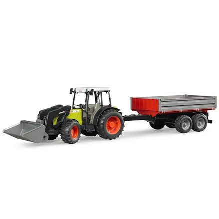 Bruder 02112 Claas Nectis 267F Tractor Set, tipping trailer
