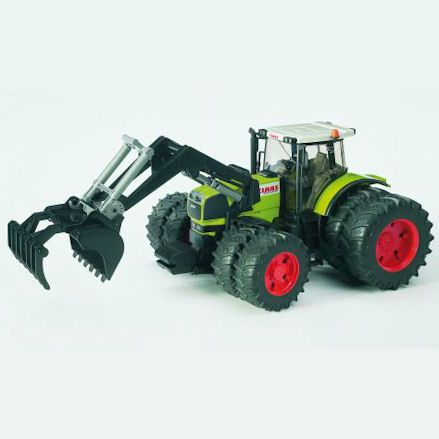 Bruder 03011 Claas Atles 936 RZ Tractor,Action Shot