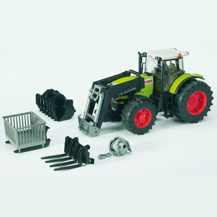 Bruder 03011 Claas Atles 936 RZ Tractor, All Contents