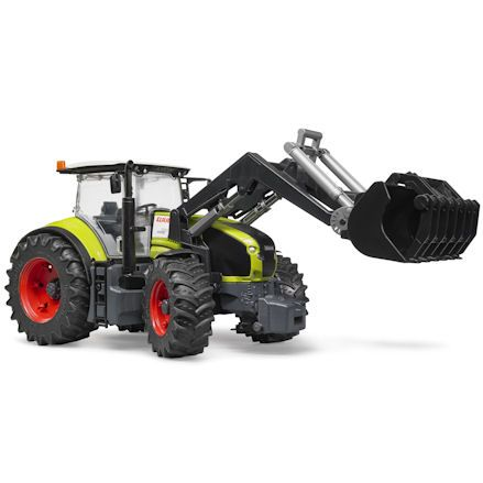Bruder 03013: Claas Axion 950 Tractor, grabber attachment