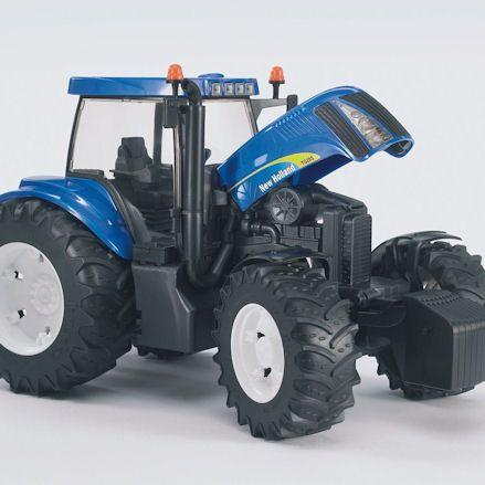 Bruder 03020 New Holland TG285 Tractor, bonnet