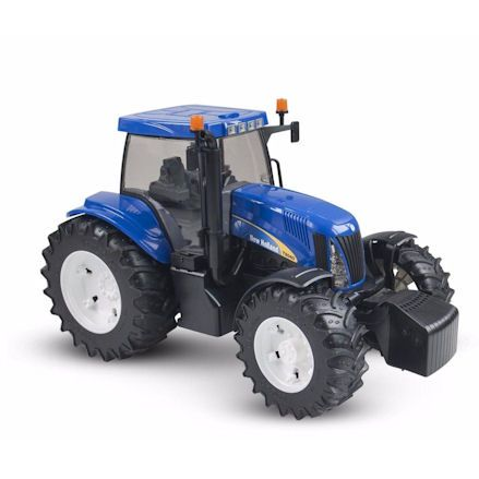 Bruder 03020 New Holland TG285 Tractor, right side view
