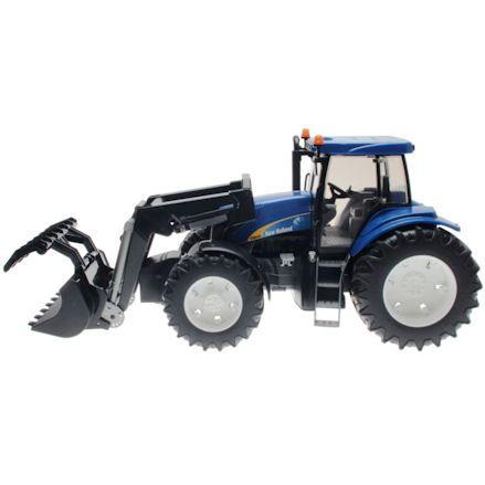 Bruder 03021 New Holland TG285 Tractor, Left Side