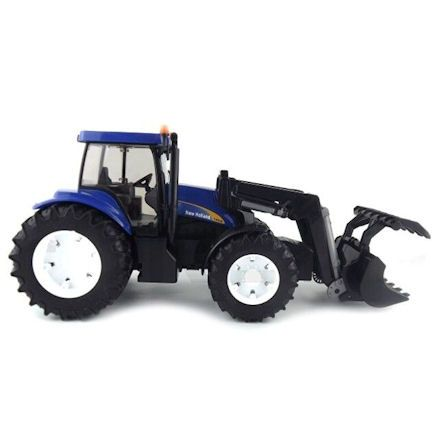 Bruder 03021 New Holland TG285 Tractor, Right Side