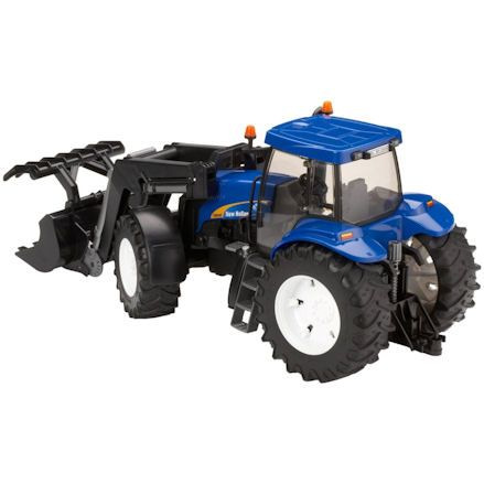Bruder 03021 New Holland TG285 Tractor, Steering
