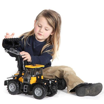 Bruder 03030 JCB Fastrac 3220 Tractor, Child Playing