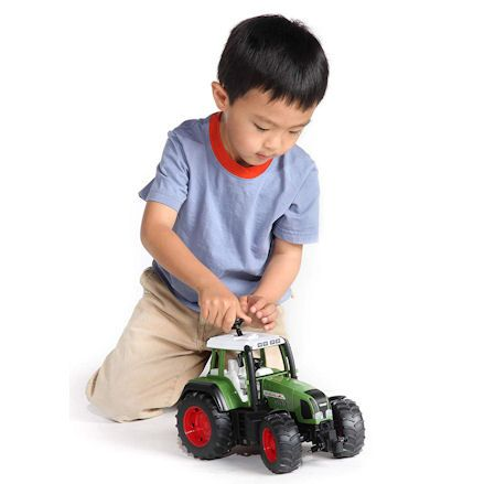 Bruder 03040 Fendt 936 Vario Tractor, child playing
