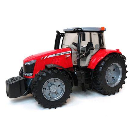 Bruder 03046 Massey Ferguson 7624 Tractor, Left Side