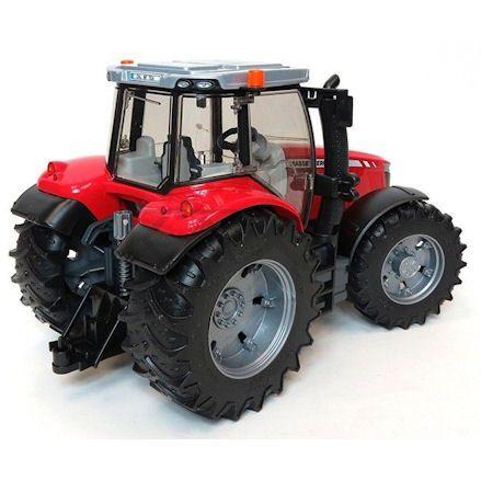 Bruder 03046 Massey Ferguson 7624 Tractor, Rear View