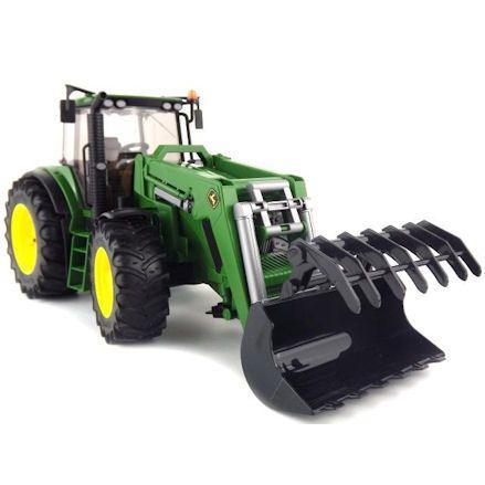 Bruder 03051 John Deere 7930 Tractor, Grabber