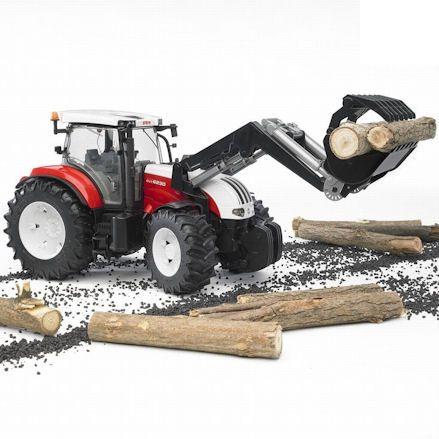 Bruder 03091 Steyr CVT 6230 Tractor, diorama