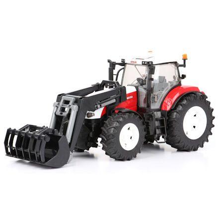 Bruder 03091 Steyr CVT 6230 Tractor, ground