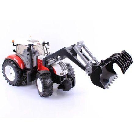Bruder 03091 Steyr CVT 6230 Tractor, front loader