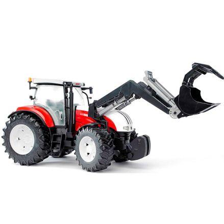 Bruder 03091 Steyr CVT 6230 Tractor with Front Loader