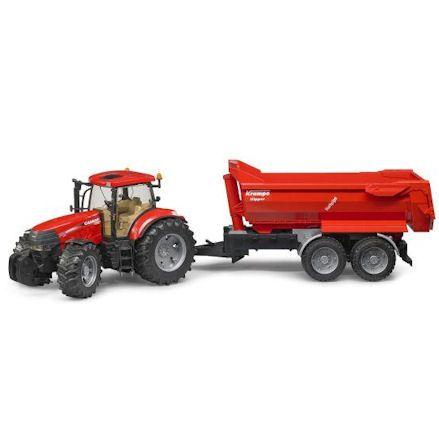 Bruder 03099 Case IH Puma CVX 230 Tractor with Kampe Kipper