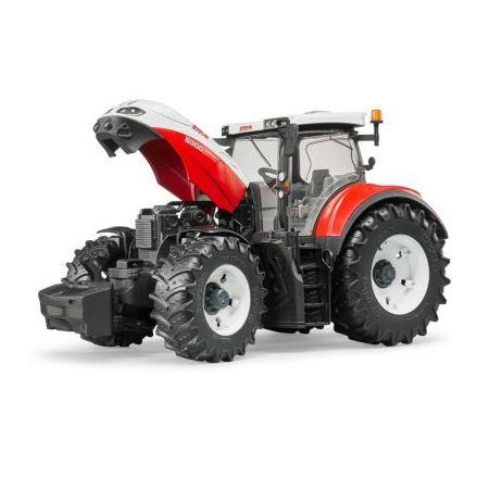Bruder 03180 Steyr 6300 Terrus CVT Tractor, bonnet