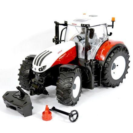 Bruder 03180 Steyr 6300 Terrus CVT Tractor, parts