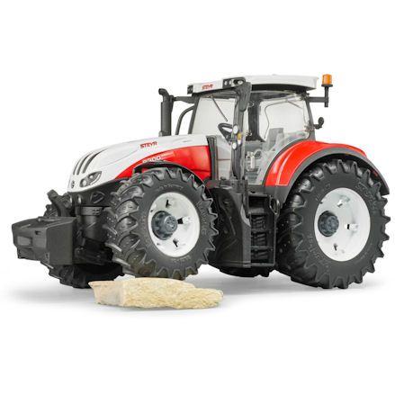 Bruder 03180 Steyr 6300 Terrus CVT Tractor, rock