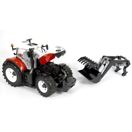 Bruder 03181 Steyr 6300 Terrus CVT Tractor, removed
