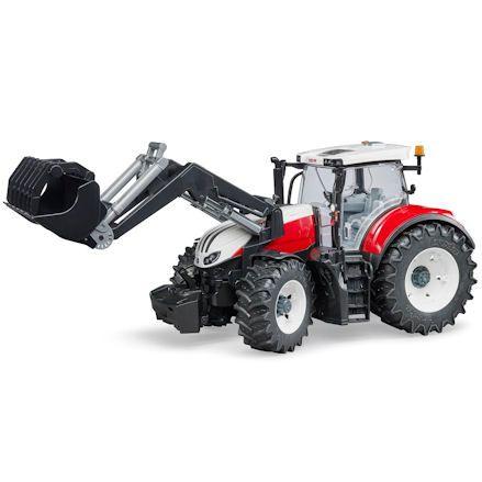 Bruder 03181 Steyr 6300 Terrus CVT Tractor with Front Loader