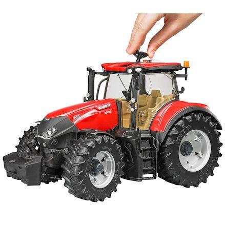 Bruder 03190 Case IH Optum 300 CVX Tractor, Child Playing