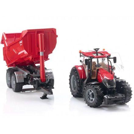 Bruder 03199 Case IH Optum 300 CVX Tractor, show