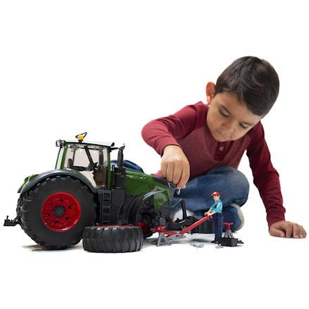 Bruder 04041 Fendt 1050 Vario Tractor, child playing