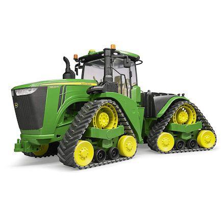 Bruder 04055 John Deere 9620RX Tractor, Left Side