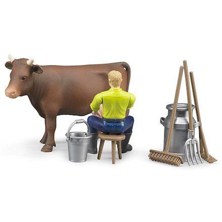 Bruder 62605 Farming Milking Set